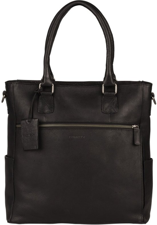 BURKELY ANTIQUE AVERY SHOPPER 13,3'' - Laptoptas - Zwart