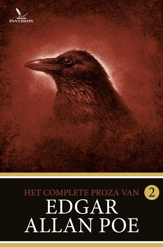 Boek cover Poes complete proza - Het complete proza 2 van Edgar Allan Poe (Paperback)