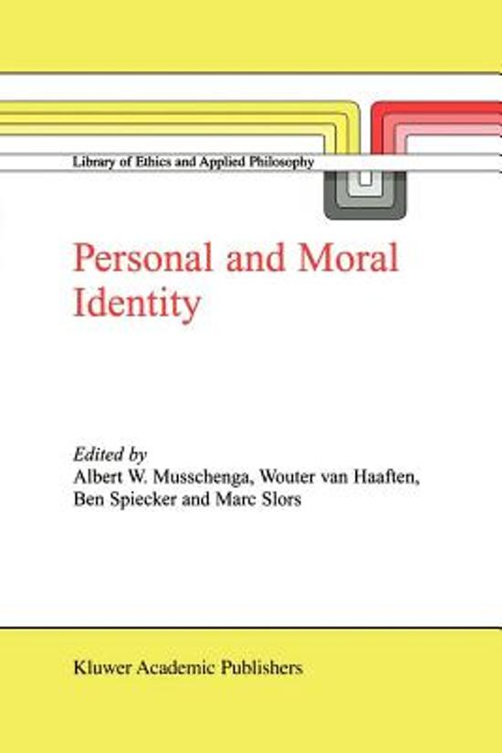 moral identity of a leader essay Correlating ethics with leadership, we find that ethics is all about the leader's identity and the leader's role ethical theories on leadership talk about two main things: (a) the actions and behaviour of leaders and (b) the personality and character of leaders.