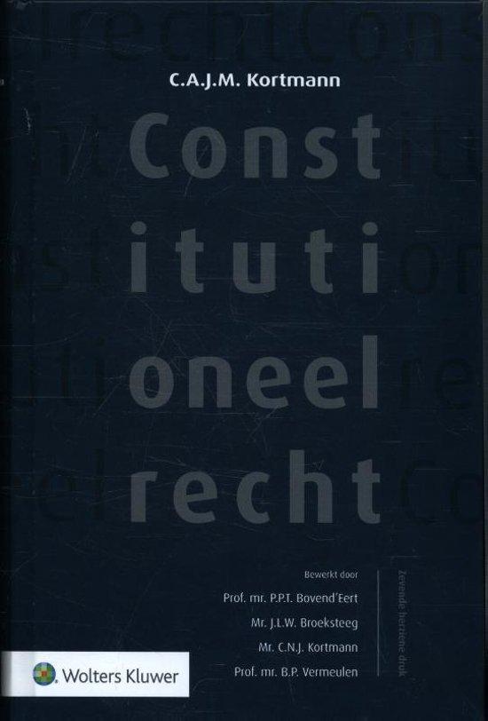wat betekent constitutioneel