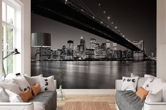 New York Brooklyn Bridge - Fotobehang 366 x 254 cm