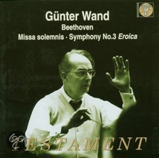 Missa Solemnis/Symphony No.3