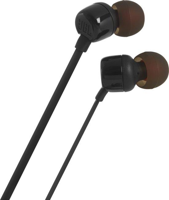 JBL T110 - In-ear oordopjes - Zwart