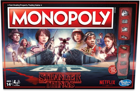 Monopoly Stranger Things (Engelstalig)
