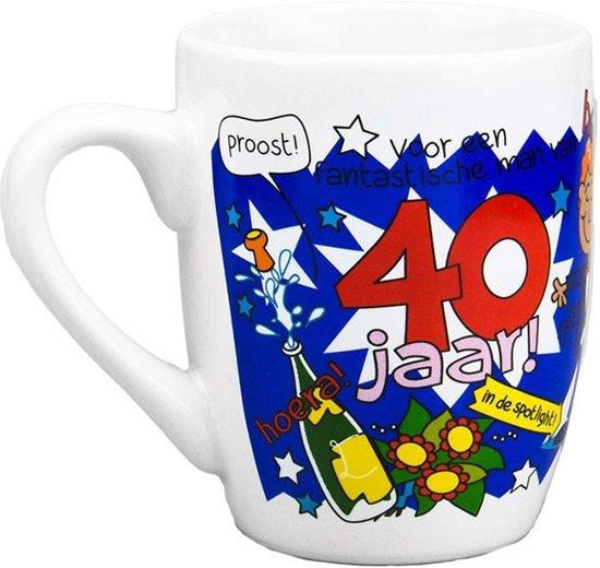 mok 40 jaar bol.| Cartoon mok 40 jaar man, Merkloos | Speelgoed mok 40 jaar