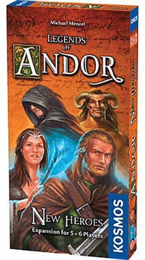 Afbeelding van het spel Legends of Andor New Heroes