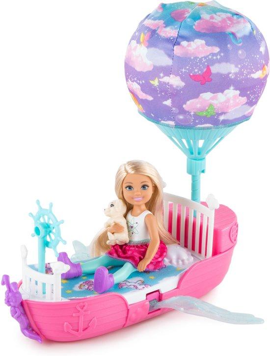 Barbie Dreamtopia Chelsea's Magische Droomboot
