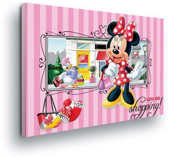 Bolcom Disney Minnie Mouse Daisy Duck Canvas Print 100cm X 75cm