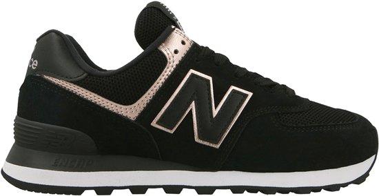 2993790ce73 New Balance 574 Sneakers - Maat 37 - Vrouwen - zwart/roze/goud
