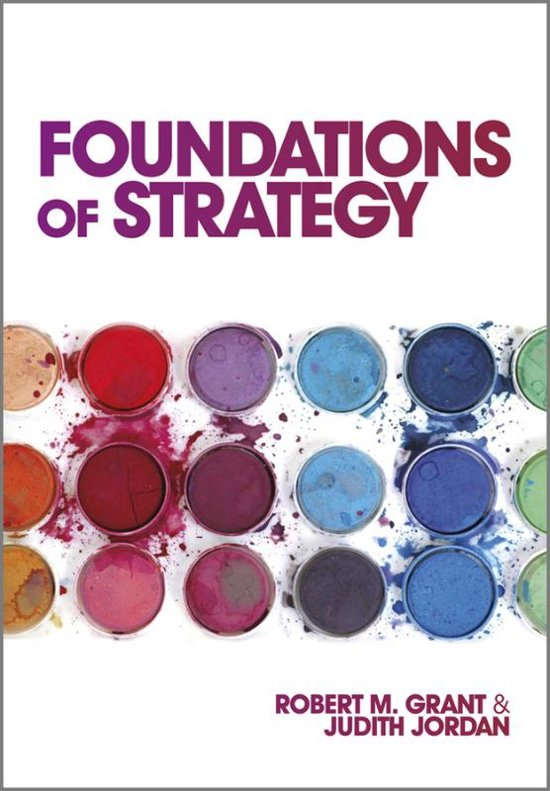 Boek cover Foundations of Strategy van Robert M. Grant (Onbekend)