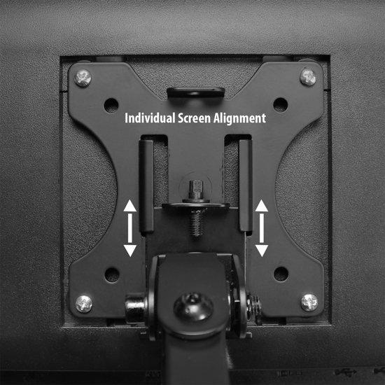 Ewent EW1513 Monitor Beugel voor 3 Monitoren