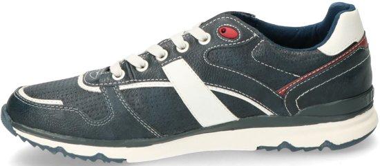 46 Sneaker Heren Maat Mustang Blauw q7nw88I4x