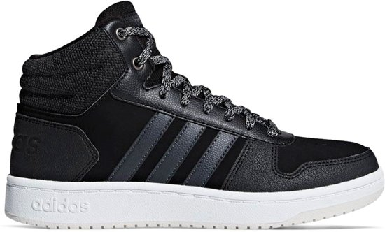 0 Hoops Adidas Sneakers Schoenen 39 2 3 Mid Zwart 1 4txwdaxUq