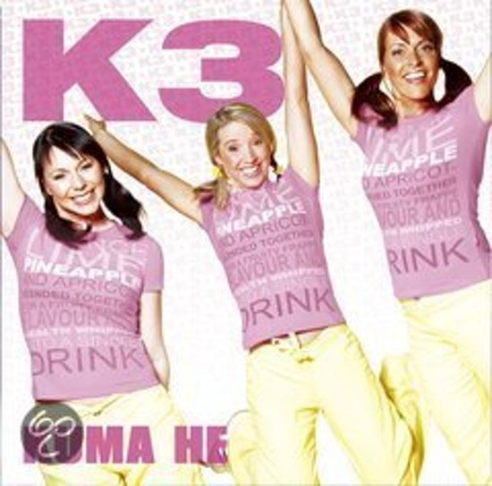 CD cover van Kuma He van K3