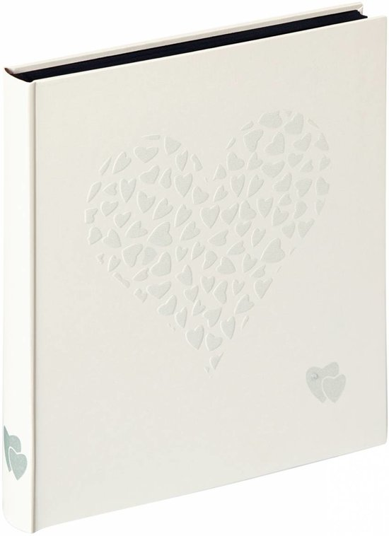 Walther Design FA-132 Just for Love - Trouwalbum - 28 x 30,5 - Zwart - 50 pagina's