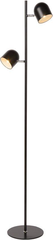 Lucide SKANSKA - Vloerlamp - LED Dimb. - 2x5W 2700K - Zwart