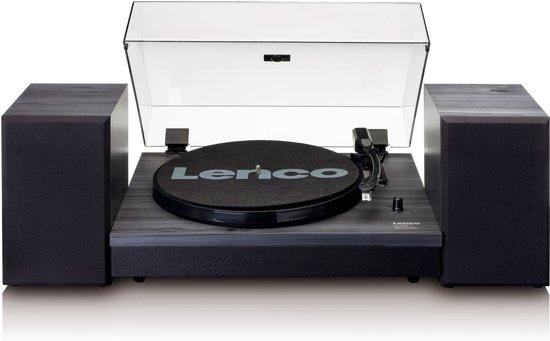 lenco ls 300   Lenco LS-300 - Platenspeler met twee externe speakers en ...