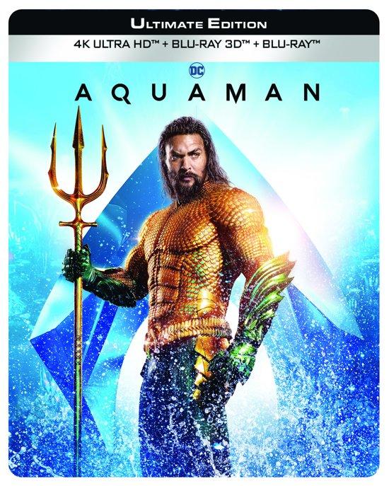 Aquaman (4K + 3D + 2D Blu-ray) (Limited Edition) (Steelbook) (Exclusief bij bol.com)