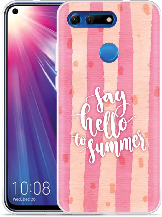 Huawei Honor View 20 Hoesje Say Hello to Summer