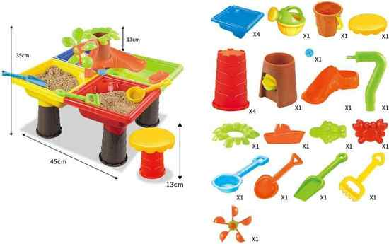 Zand en Water Speeltafel