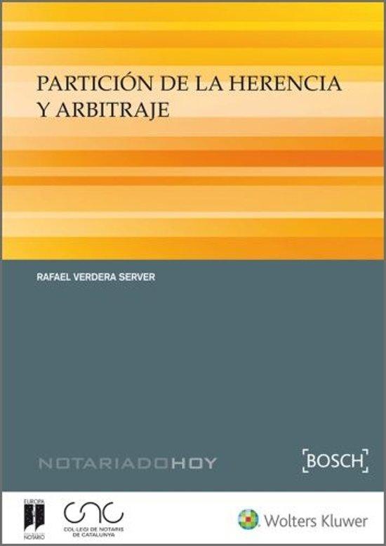 Particion de la herencia y arbitraje