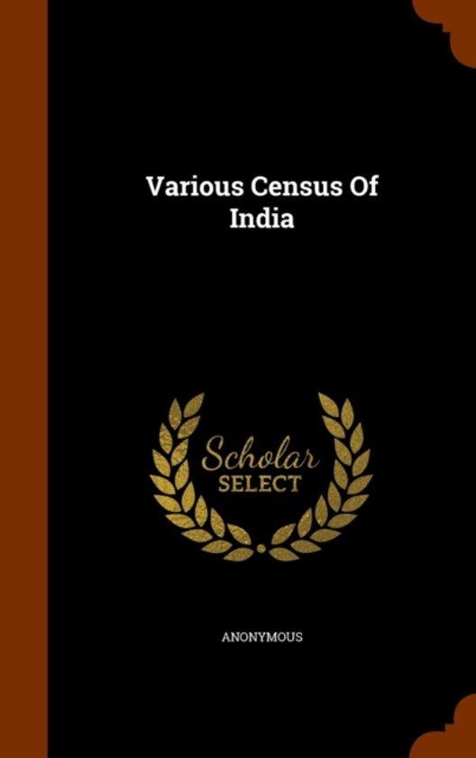 Various Census of India