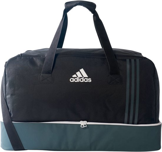 56fa8f4f0fa bol.com | adidas SporttasKinderen en volwassenen - zwart/wit