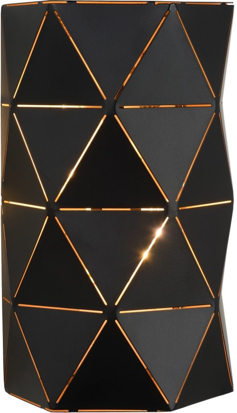 Lucide OTONA - Wandlamp - Zwart