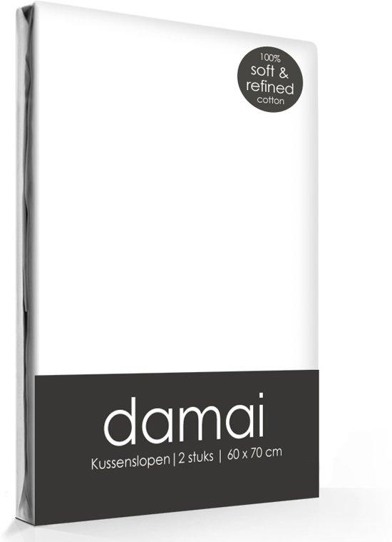 Damai - Kussensloop - 40 x 60 - White - 2 Stuks