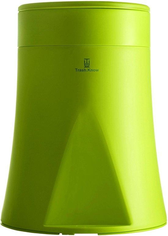 Design Afvalemmer Rotho.Trash Know Design Afvalemmer Vuilbak Groen 12l