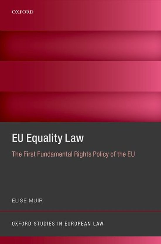 EU Equality Law