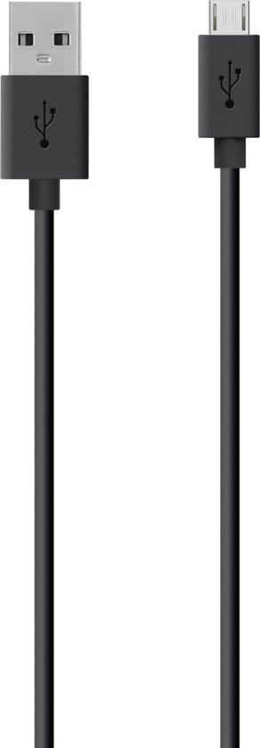 Belkin MIXIT Micro-USB naar USB Kabel - 2 meter - Zwart