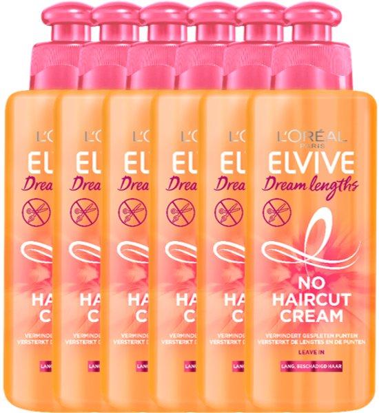 L'Oréal Paris Dream Lengths Haarcrème - 6x200 ml - Voordeelverpakking
