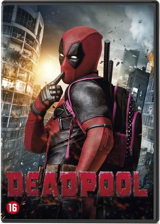 DVD cover van Deadpool