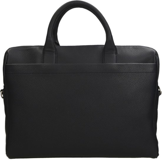 22d579d4dca Duifhuizen Leather Collection laptoptas 15 inch navy