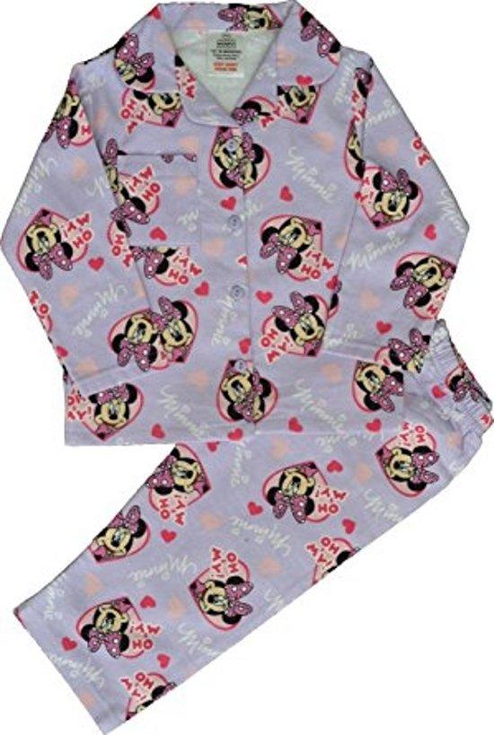 0aebd7f9a9d bol.com | Minnie Mouse pyjama maat 92 flanel 100% katoen
