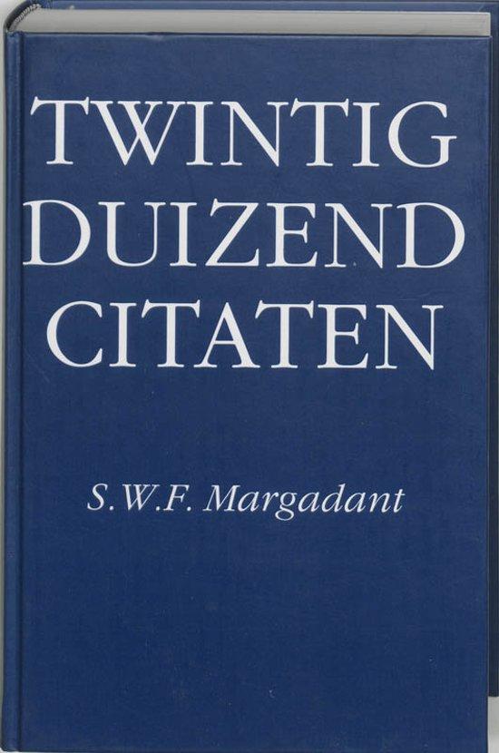 Boek Twintigduizend Citaten Margadant Epub Heatssfigiref