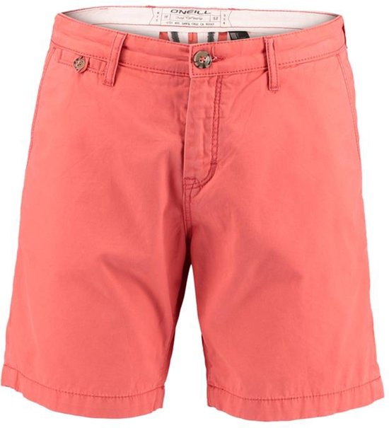O'Neill - Friday Night Chino Shorts - Sportbroek Casual - Heren - Rood - maat 30
