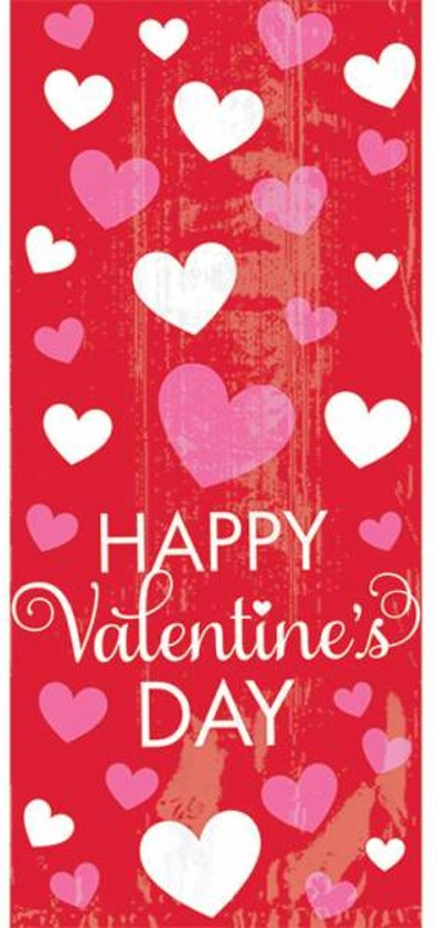20 Partybags Valentine s Day 22 cm