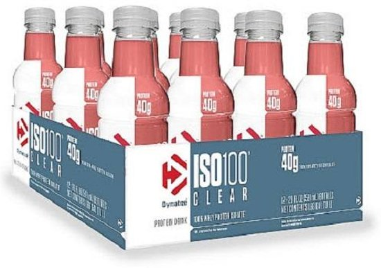 ISO-100 Clear RTD 12x 591ml Fruit Punch