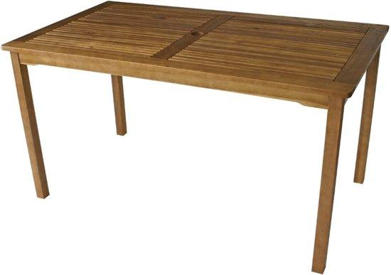 Bol houten tuintafel cm acacia