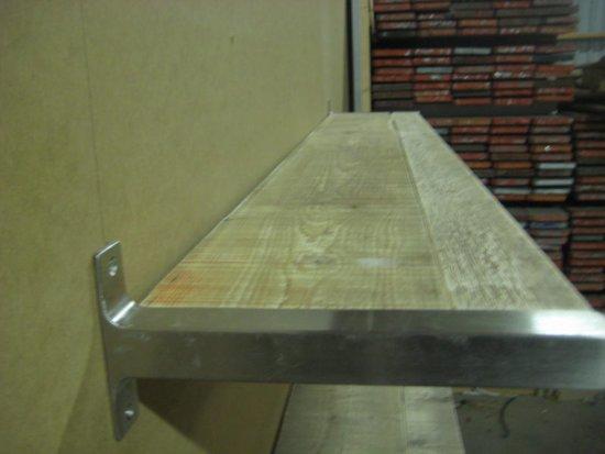 Wandplank 30 Cm Diep.Bol Com 2x Steigerhouten Boekenplank Type Ryde Xl 100cm Breed En
