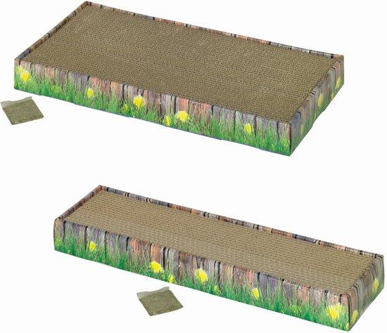 Nobby krabplank karton in doos - 48 x 125 x 5 cm