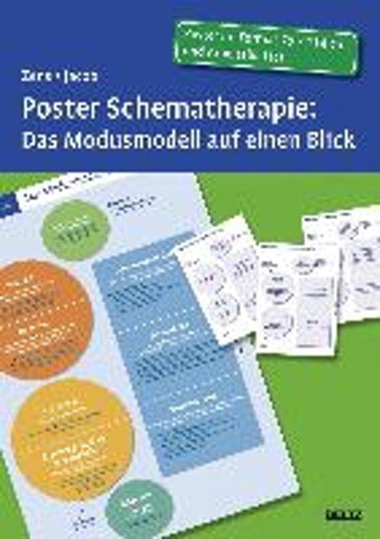 Boek cover Poster Schematherapie: Das Modusmodell auf einen Blick van Zens, Christine (Paperback)