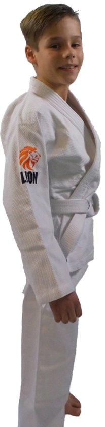 Judopak - wit - Lion 450 Kids - maat 150