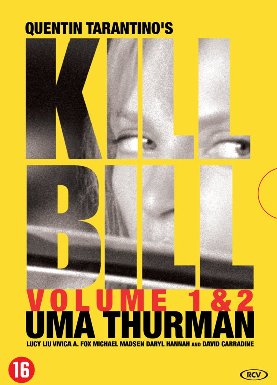 DVD cover van Kill Bill 1&2 (Blu-ray)