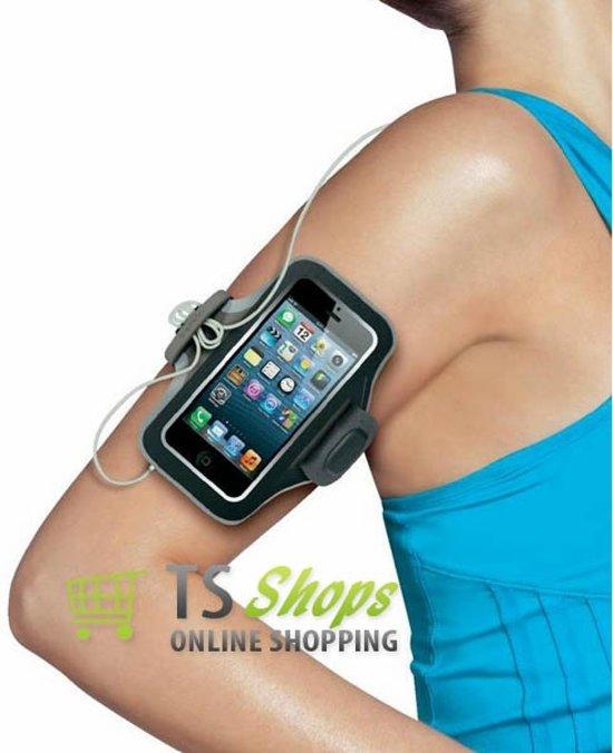 Sports armband case zwart voor Apple iPhone 7 Plus