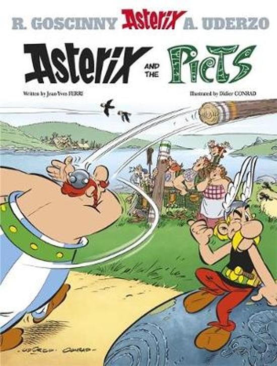 Boek cover Asterix #35 Asterix and the Picts van Jean-Yves Ferri (Hardcover)