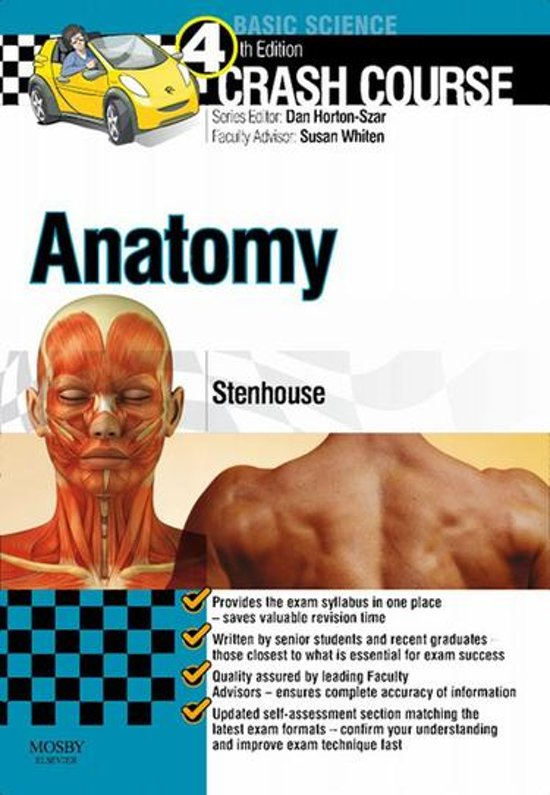 bol.com | Crash Course Anatomy E-Book (ebook), Louise Stenhouse, Bsc ...