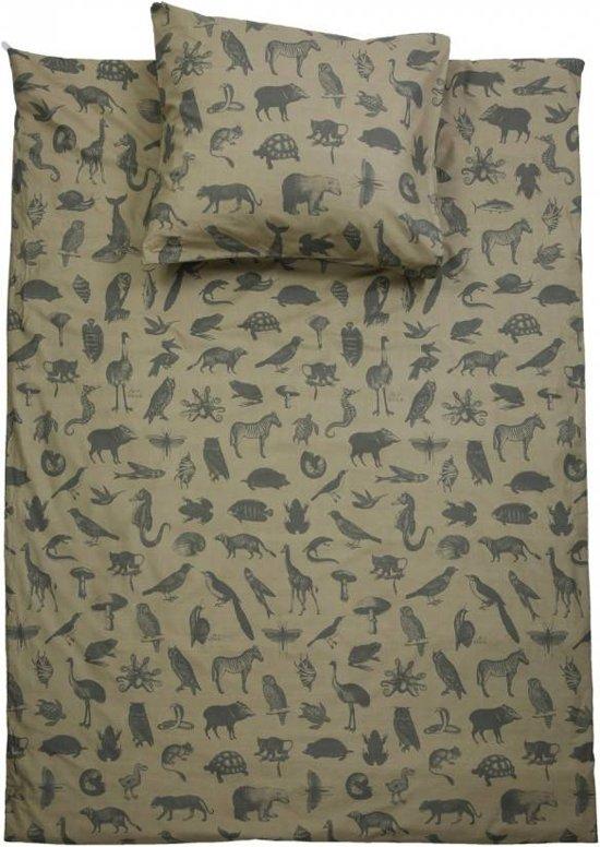 Stapelgoed Dekbedovertrek Animal Maat: Lits-jumeaux (240 x 220 cm + 2 kussenslopen)